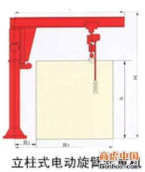 悬臂吊产品平面图