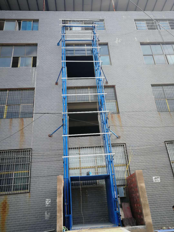 双轨常规二层升降货梯